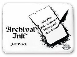 Archival Jet Black Ink