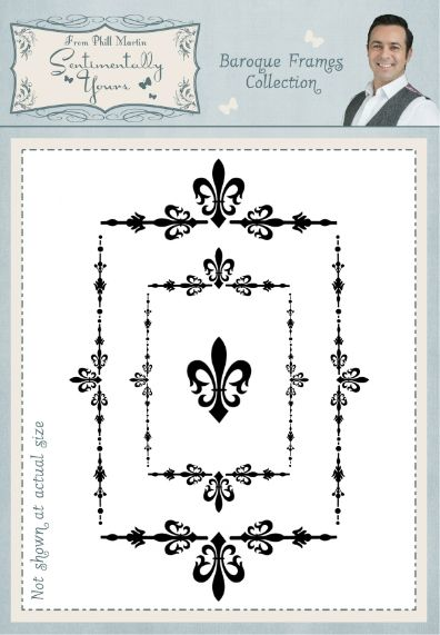Baroque Frames A6 Stamp Set